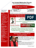 Newsletter for December 2015