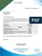 Presupuesto General de la República de 2017 Con Voto Razonado