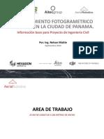 LEVANTAMIENTO FOTOGRAMETRICO CON UAV EN LA CIUDAD DE PANAMA