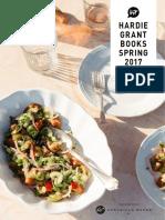 Hardie Grant Spring 2017 Catalog
