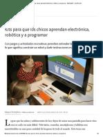 Kits Para Que Los Chicos Aprendan Electrónica, Robótica y a Programar - 09.03