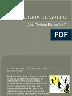 Estructura de Grupo, en dinámicas de grupo