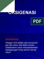 3. Oksigenasi