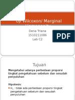 Uji Marginal Homogenity