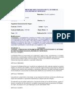 Convencion Centroamericana Para La Restitucion y El Retorno de Objetos Arqueologicos