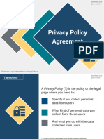 The Privacy Policy Agreement