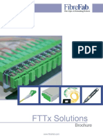 FTTx Solutions Brochure