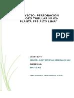 Informe Técnico de Valorización Reubicacion de Linea Electrica