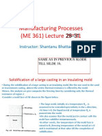Manufacturing Processes (ME361)-Lecture 28 to31.pdf