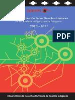 Situación de Derechos Humanos de los Pueblos Indigenas en la Patagonia