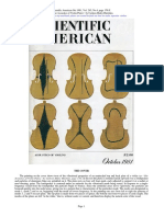 Violin Plates Scientific American