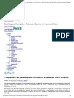 A Importância Do Gerenciamento de Riscos Nos Projetos Sob a Ótica de Custos - PMKB _ Conhecimento e Experiência Em Gerenciamento de Projetos