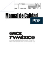 Manual de Calidad Tv