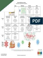 december menu 2016