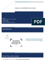 Programa Nacional de Infrestructura