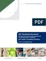 Global Traceability Standard