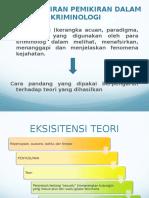 Teori Kriminologi - P5 Ppt