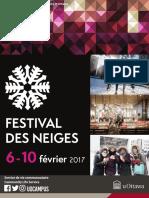 Plan de Partenariat | Festival Des Neiges