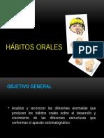 habitos orales