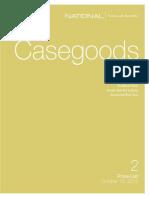 Casegoods2 Pricelist