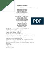 Simulado de Português Ifrn