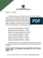 Abren en la embajada de Cuba en Ginebra el Libro de Condolencias por el deceso del Comandante Fidel Castro del 28 nov al 4 dic 2016 (1)