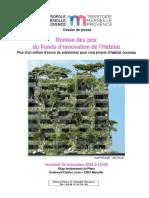 DP Prix de l'Innovation Pour l'Habitat décerné par Marseille Provence