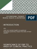 ot mental health   nutrition