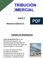 Parte 7 Distribución Comercial