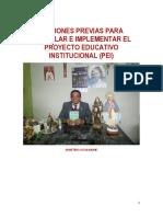 Ediciones Previas Proyecto Educativo Institucional MINEDU-2016 Ccesa007