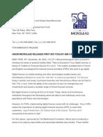 Press Release - Mobile Toolkit - English
