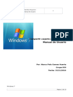 Manual de Usuario Compartir Carpetas en Win 7