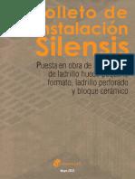 Folleto de Instalación Silensis (Ladrillo Hueco Pequeño Formato)