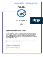 Tarea 2 de Matematica