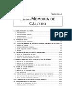 Memoria de Cálculo
