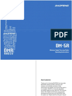 DM-5R User Maunal