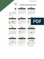 Calendario laboral Logroño 2017