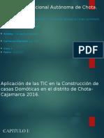 Aplicación de Las TIC en La Construcción de casas Domoticas