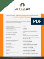 Hematología y Medicina Transfusional 2016