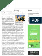 Brasil 2019 - Presidente Anuncia Pacto Com Congresso Contra Anistia a Caixa 2 _ Valor Econômico