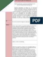 Matriz de apoyo para la definición de plan sistematización
