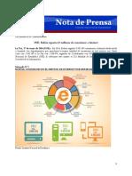 Reporte INE Accesso a internet en Bolivia