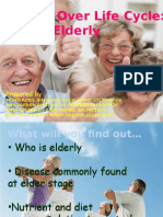 Elderly Human Nutrition
