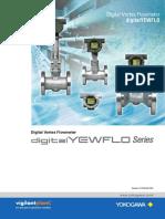 Vortex Flow Meter Yokogawa Catalogue