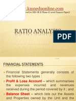 Financial Ratios Useful for Solving Numericals