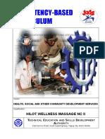 CBC Hilot (Wellness Massage) NC II