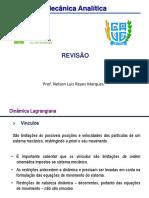 Mec Analítica REVISÃO