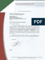 Invitacion Ministro Vivienda