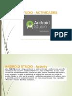 Android Studio - Actividades