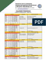 Kalender Akademik 2016 - 2017